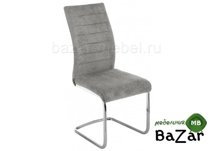 Стул Basit light grey fabric
