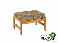 Банкетка - Пуф  Ottoman LB 2570-D  HONEY OAK -  (Медовый дуб)  высокая